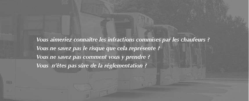analyse infractions routières conducteurs par RH Transport